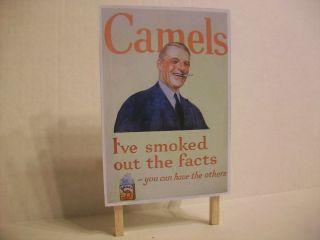 Scale Camel Cigarees Billboard Srucure MH Lionel
