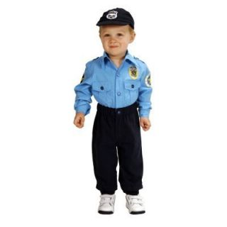 Baby Police Officer Cop Costume Infant SIZE18MONTHS Originally $59 99