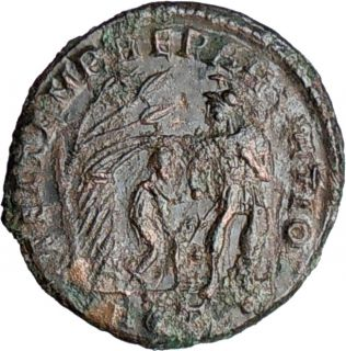 Constantius II 348AD Authentic Genuine Ancient Roman Coin V Barbarian