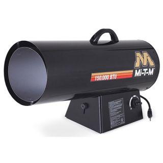 MI T M Natural Gas 150 000 BTU Forced Air Space Heater MH 0150 NM10