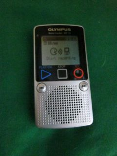 Olympus Note Corder DP 10 Batteries 1GB 131 Hours Digital Voice