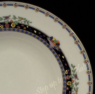Lenox China Vintage Coronado Fruit Berry Dessert Bowl s Hand Enameled