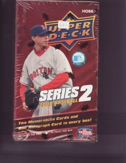 2008 Upper Deck Series 2 Baseball Factory SEALED Hobby Box