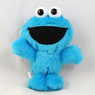 Cute Cookie Monster Seasame Street Plush Stuffed Toy Mascot Ballchain