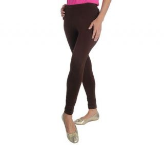 Liz Claiborne New York Stretch Full Length Knit Leggings —