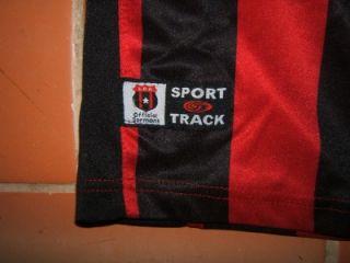 Vintage LDA Costa Rica Football Soccer Jersey Red Black Sport Track