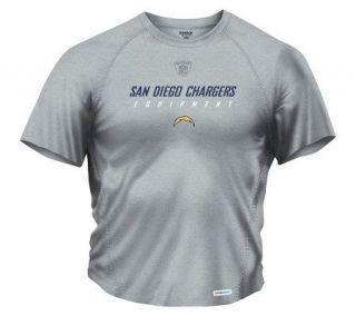 NFL San Diego Chargers Speedwick Short Sleeve T Shirt —