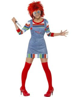 Childs Play Horror Film Character Fancy Dress Halloween Costume