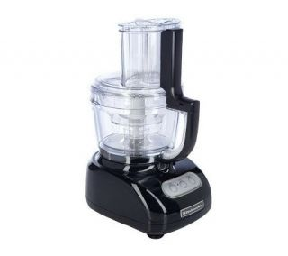 KitchenAid 12 Cup 700Watt Wide Mouth Food Processor w/ Accessories