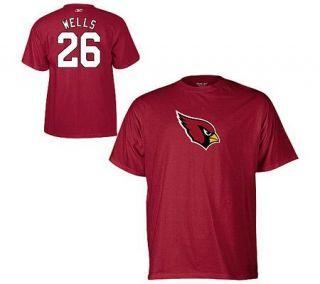 NFL Arizona Cardinals Chris Wells Name & NumberT Shirt —
