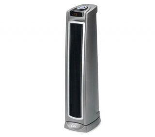 Lasko 5570 Oscillating Ceramic Tower Heater w/Rote Control —