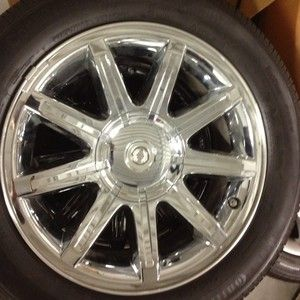 Chrysler 300 18 Inch Chrome Alloy Wheels With Continental Tires