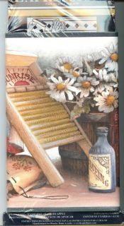 in Package Wallpaper Border Laundry Room Country Cottage Decor