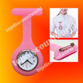 Nurse Fob Watch 10 Different Color Silicon Cover Case