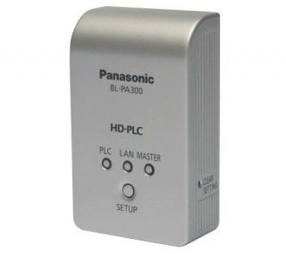 Panasonic HD PLC Ethernet Adapter —