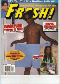Rap Hip Hop Magazine Kriss Kross Brandy 2Pac Coolio Jodeci TLC
