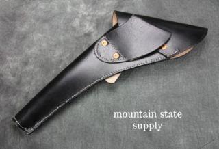 Right Hand Colt 1860 Army Black Leather U.S. Civil War Revolver