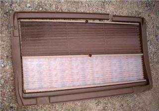1992 05 Astro or Safari Van Sliding Side Door 2 color Pull down Window
