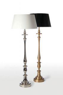 Barbara Cosgrove Baroque Floor Lamp Nickel Brass