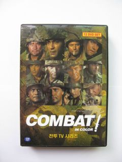 Combat ABC TV Series 24 episodes in a 12 DVD Boxset Vic Morrow Rick