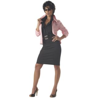 Rizzo Grease 50s 1950s Pink Halloween Ladies Adult Costume & Jacket