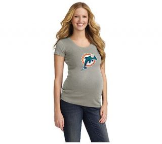 NFL Miami Dolphins Womens Maternity T Shirt —