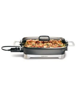 Hamilton Beach 38540 Kitchen Electric Skillet Cooking