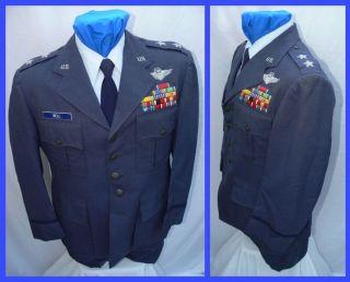 USAF AIR FORCE MAJOR GENERAL GEN COMMAND WINGS UNIFORM DIRECT BULLION