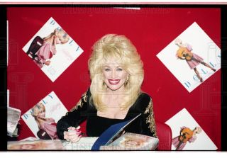 1994 35mm Negs Dolly Parton Country Music Singer 11