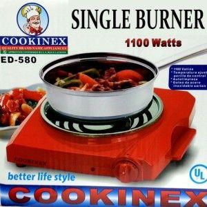 Singlel Burner Hot Plate Portable Countertop Travel Stove