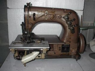 SPECIAL 52700 BELT LOOP MAKING COVERSTITCH INDUSTRIAL SEWING MACHINE