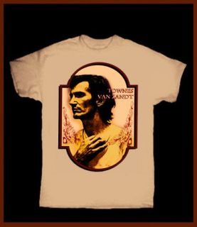 TOWNES VAN ZANDT T SHIRT VINTAGE COUNTRY FOLK AMERICANA LP CD 7 GRAM