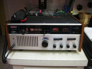 Vintage Courier Centurion PLL Base CB Ham Radio 40 Channel Microphone