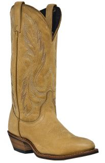 Handmade Womens Cowboy Boots Camel Medium B M Laredo Cedar 51073