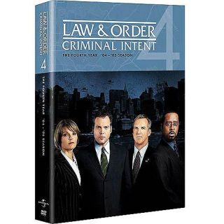 Law & Order Criminal Intent   The Complete Fourth Year 4 (DVD 2009 5