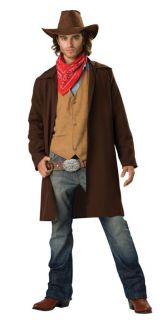 Adult Mens Costume Cowboy Ranch Western Theme Party Halloween
