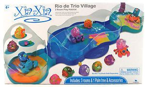 Xia Hermit Crabs Rio de Trio Village 3 Room Play Habitat 87020