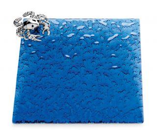 Chesapeake Bay Maryland Blue Crab Cutting Board Glass