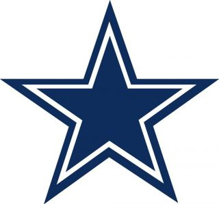 Dallas Cowboys Star Logo Window Wall Sticker Vinyl Car Decal Any Color