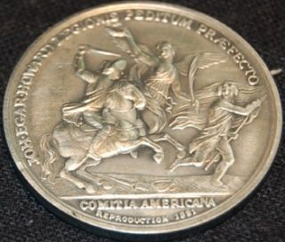 America First Medals Pewter 1781 Lt Col John E Howard COA Display Case