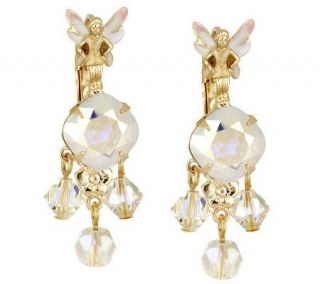 Kirks Folly Dancing Fairies Lever Back Earrings —