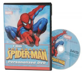 Personalized Childrens Licensed Character Cartoon DVD —