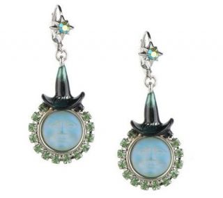 Kirks Folly Seaview Moon Witch Lever Back Earrings —