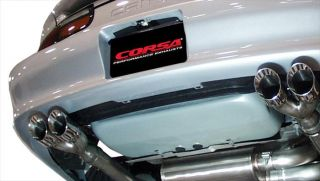 Corsa Performance Exhaust 98 02 Camaro Trans Am LS1