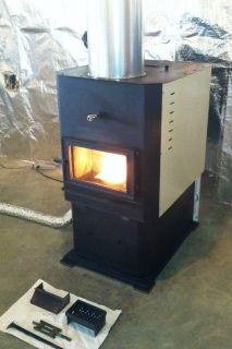 Magnum 7500 Corn Wood Pellet Multi Fuel Furnace Great Condition