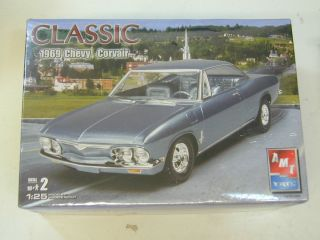 AMT 1 25 1969 69 Chevy Corvair Plastic Model Kit SEALED