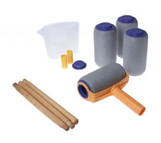 pro easy paint roller system fill eazy magic painting point poles. Black Bedroom Furniture Sets. Home Design Ideas
