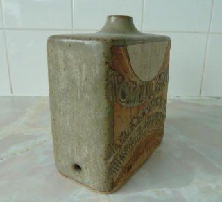 Louis Hudson Studio Pottery Handbuilt Lampbase Cornish Troika Era