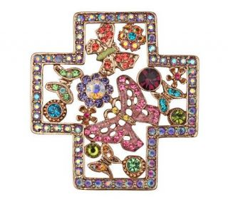 Kirks Folly Butterfly 4 Seasons Cross Pin/Enhancer —