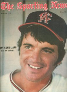 1971 Sporting News California Angels Tony Conigliaro NL